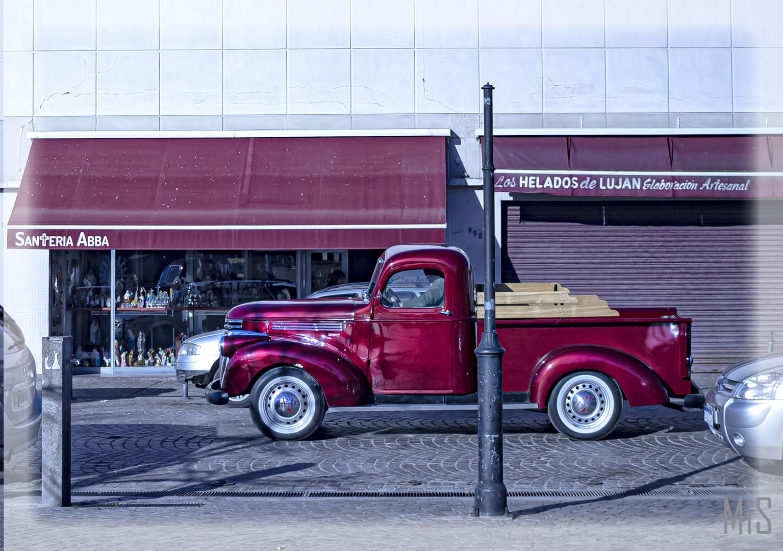 Camioneta, años 50-60