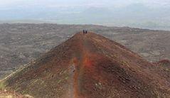 Camminare sul vulcano....