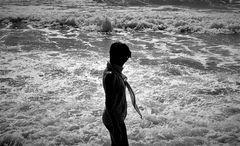 Camminare sulle onde del mare....