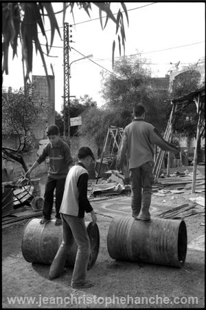 Camp de réfugiés palestiniens de El Buss, sud-Liban 2