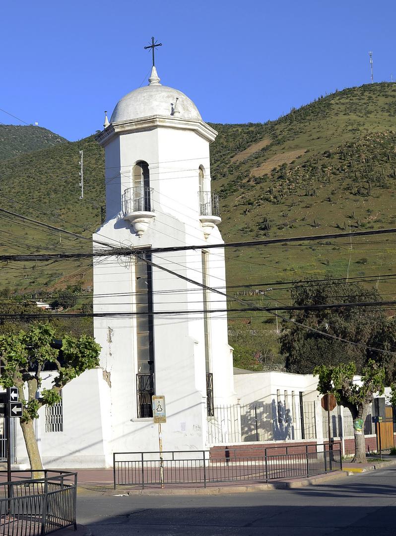 Campanario Iglesia de Cabildo - Provincia de Petorca
