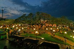 Campeche am Abend