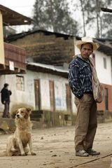 Campesino y su perro / Country man and his dog