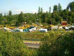 Camping in der GRÜNEN - HÖLLE