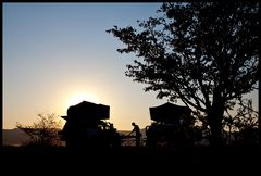Camping in the middle of nowhere