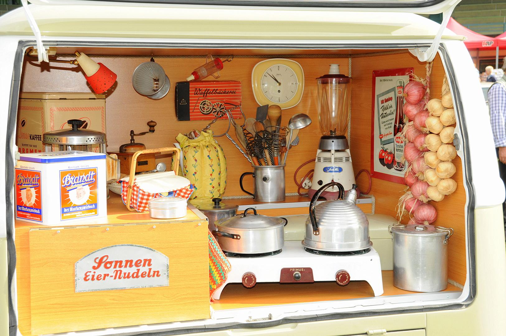 Camping Küche der 50er