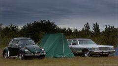 Camping mit Freunden...