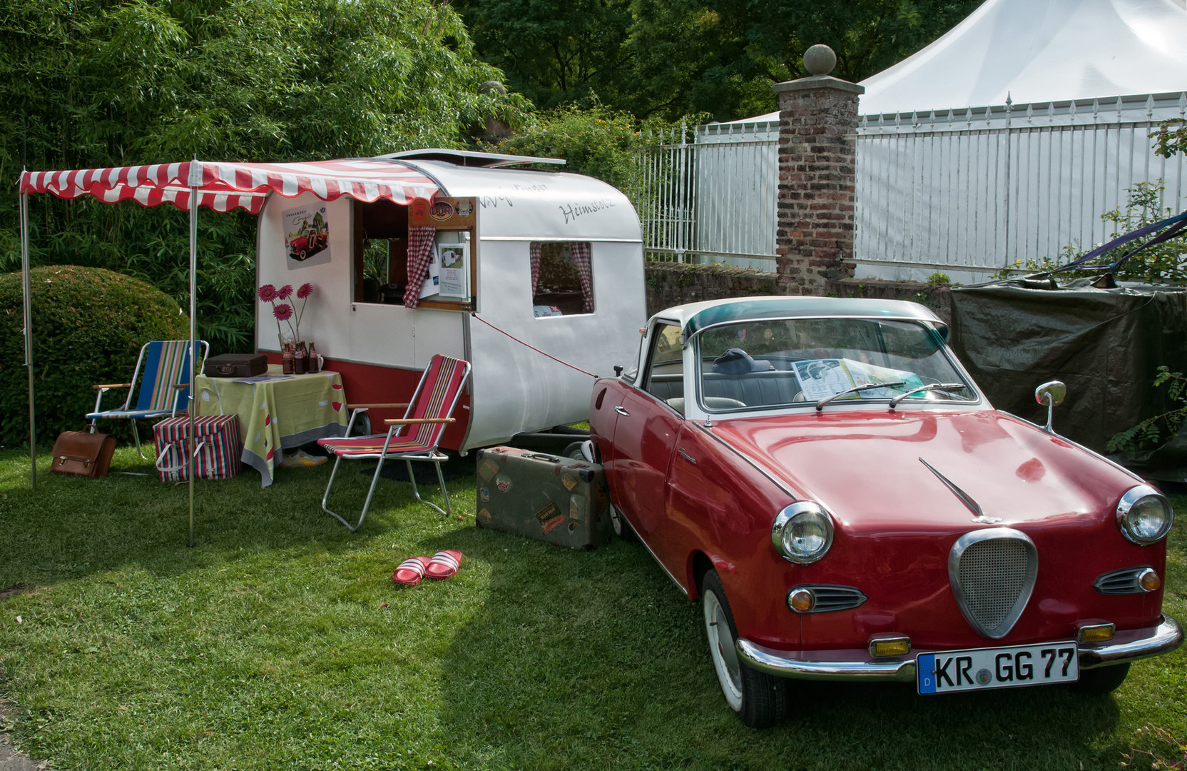 Camping - Wie Dazumal