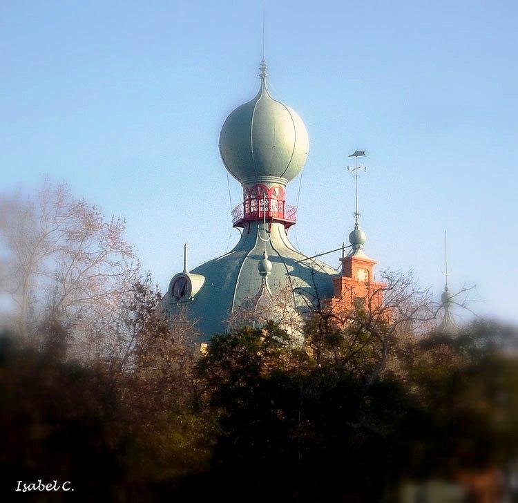 Campo Pequeno's dome