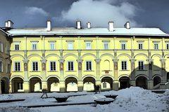 Campus der Universität Vilnius/Litauen