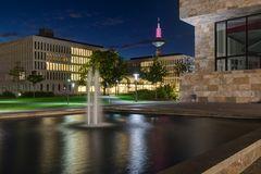 Campus Westend bei Nacht 2