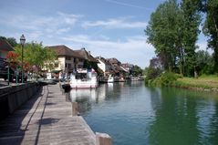 Canal de Savière, Chanaz, Savoie