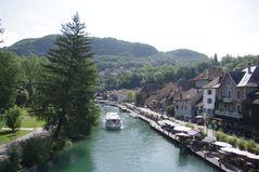 Canal de Savière, Chanaz, Savoie - suite