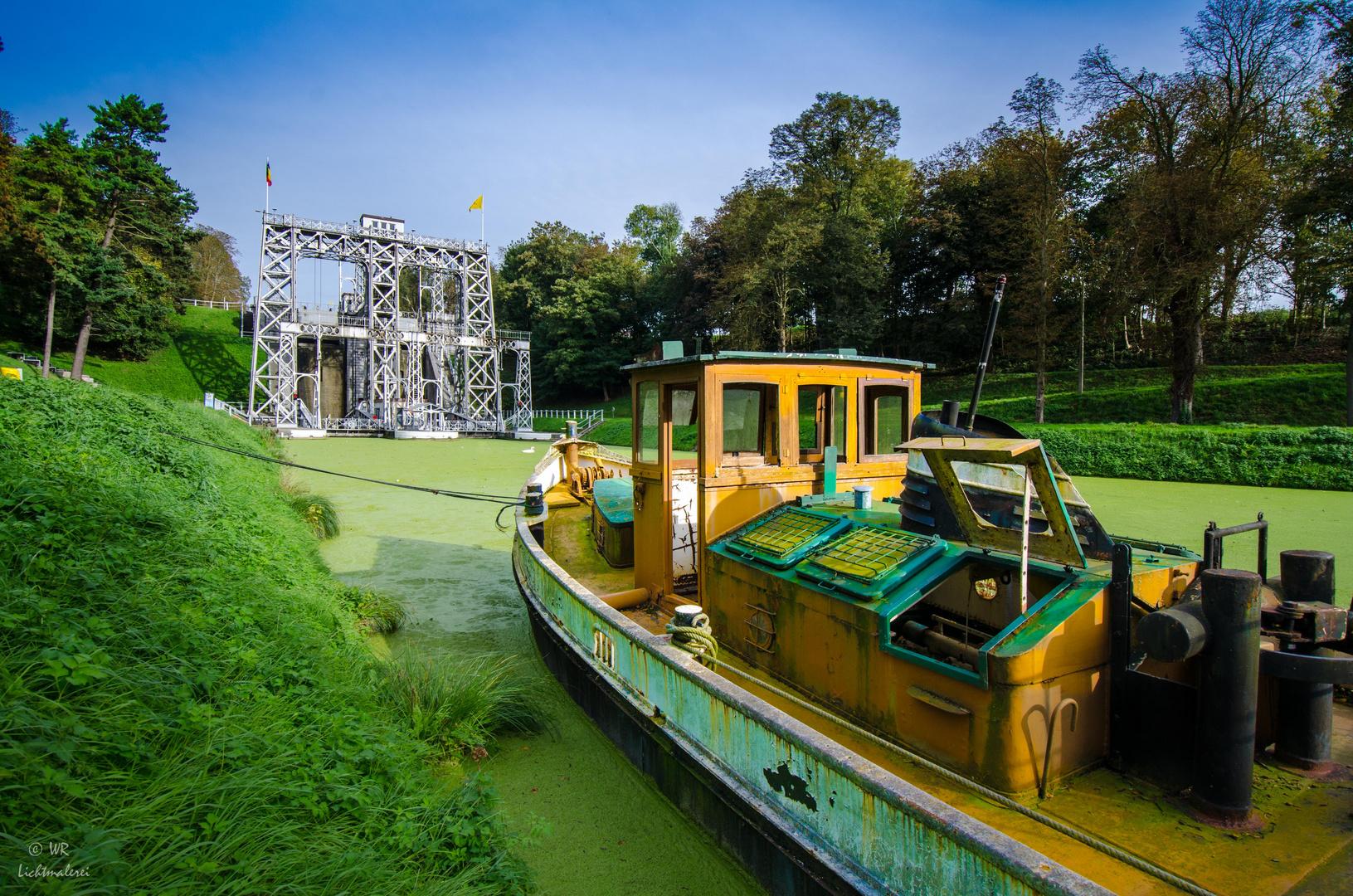 Canal du Centre, Schiffshebewerk 3