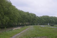 Canal du Midi in Richtung Le Somail