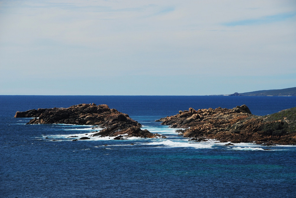 Canal Rocks, view from Wyadup Beach Rock