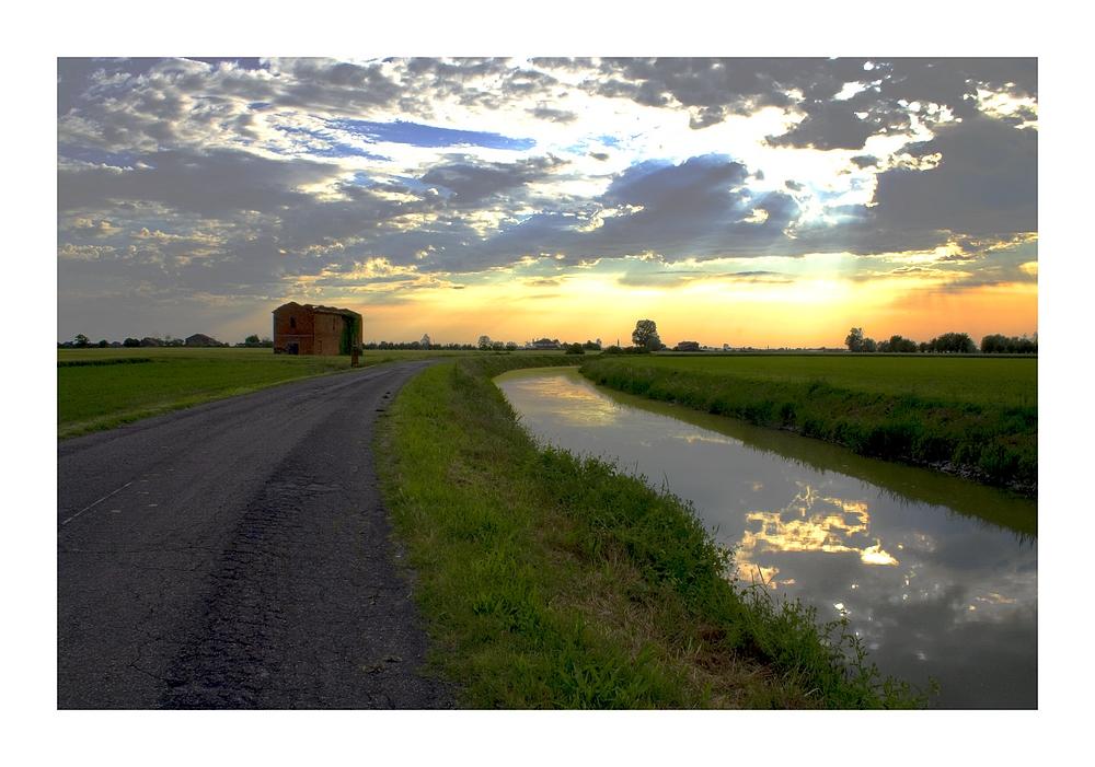 Canale al tramonto/2