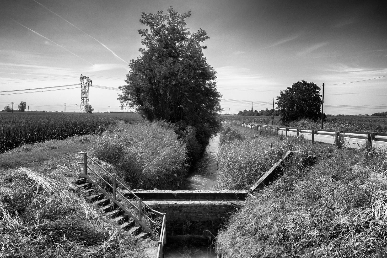Canale irrigazione, Recetto (Vercelli)