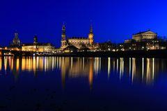 Canaletto Blick zur Blauen Stunde