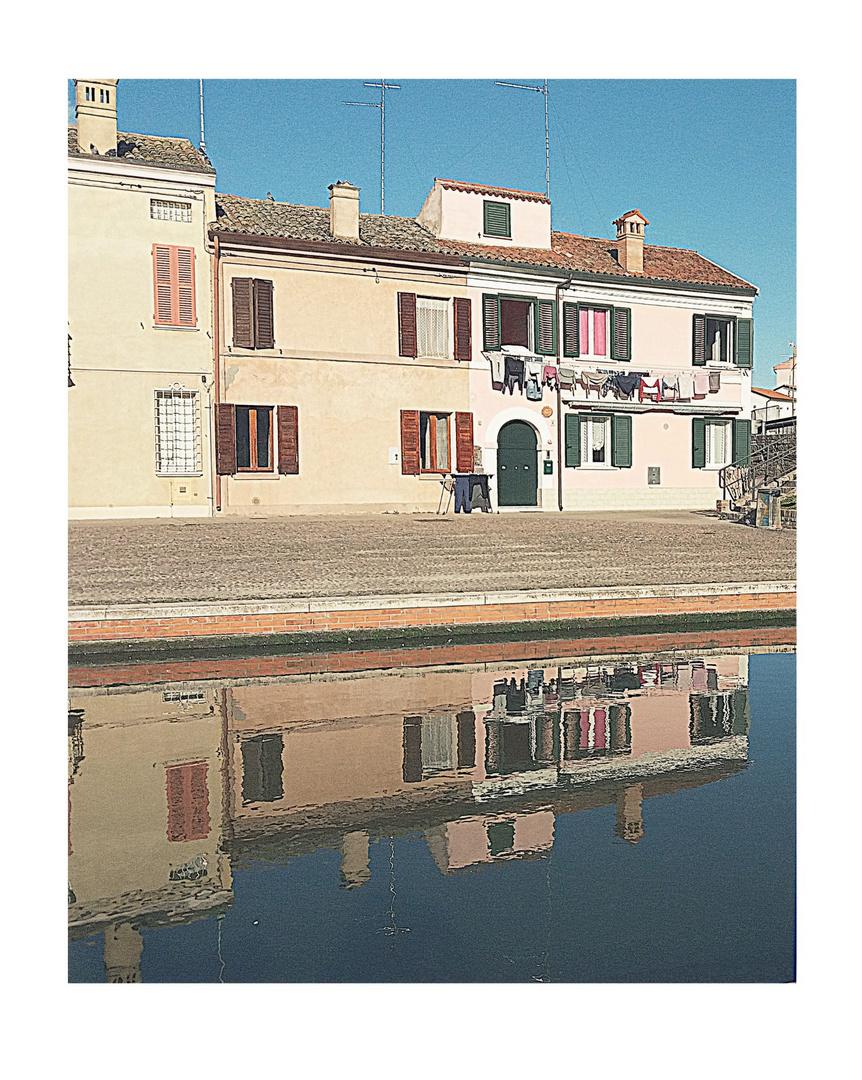 Canali e...riflessi....Comacchio...