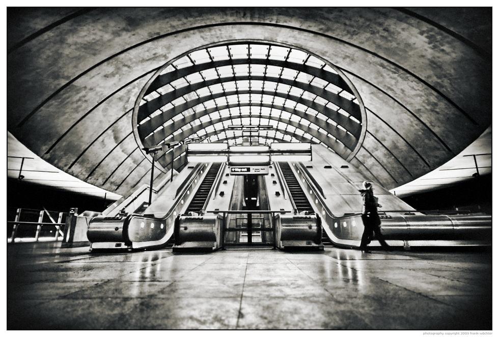 • Canary Wharf Tube Station •