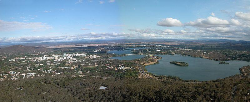 Canberra ... eine Hauptstadt im Grünen