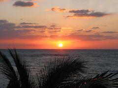 Cancun Abenddämmerung