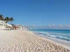 Cancun, Sonne, ein Strand, ein Meer, was will man mehr