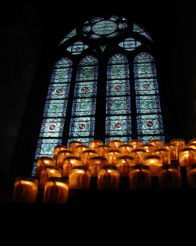 Candles in Notre Dame II