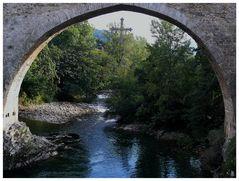 Cangas de Onís - Puente Romano - Romanische Brücke