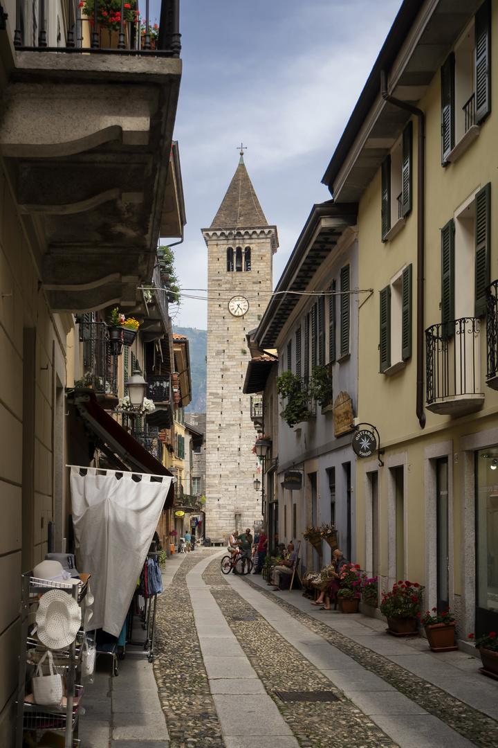 Cannobio, Via Antonio Giovanola