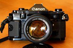 Canon A-1 um 1980