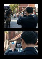 Canon bevorzugt ... oder : Wenn ich eine Pferdekutsche fotografieren will....