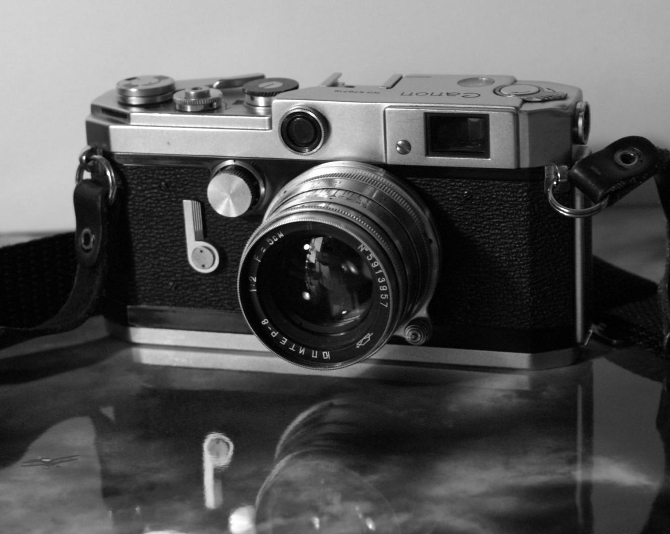 Canon VL2 mit Jupiter 8 Foto & Bild   industrie und technik
