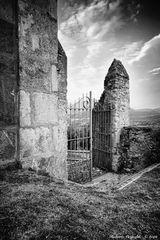 Canonica di Bedero, cancello