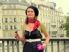cantante de paris