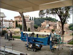 Cantieri a Roma