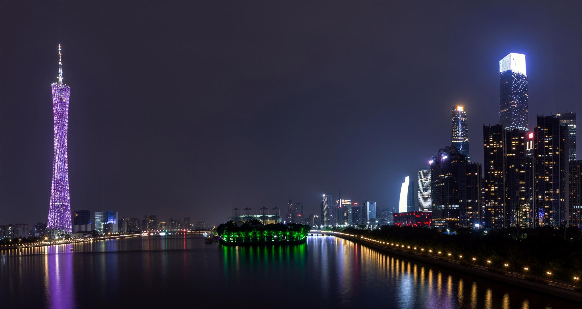 CantonTower & Guangzhou down town