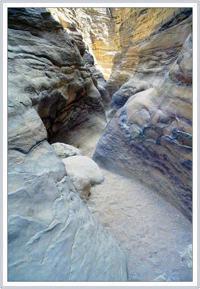 Canyon colorato