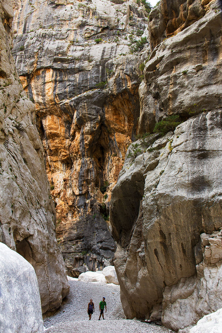 Canyon di Su Gorropu.