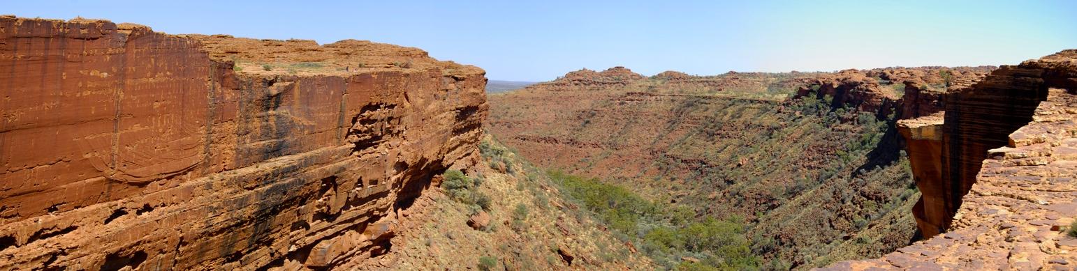 Canyon von oben
