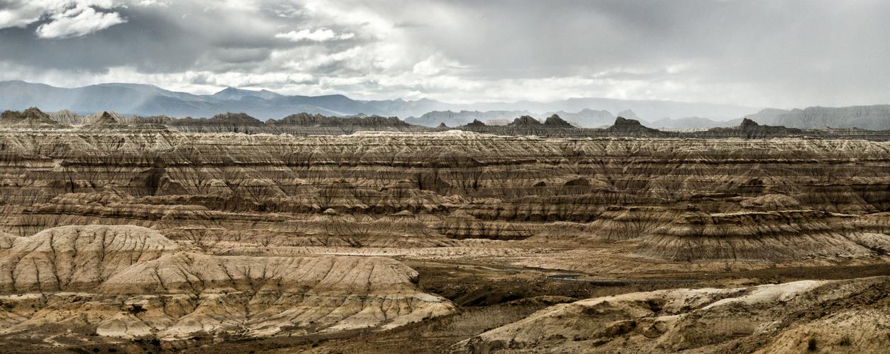 Canyonlandschaft im Einzugsbereich des Sutlej oberhalb von Tholing, Westtibet