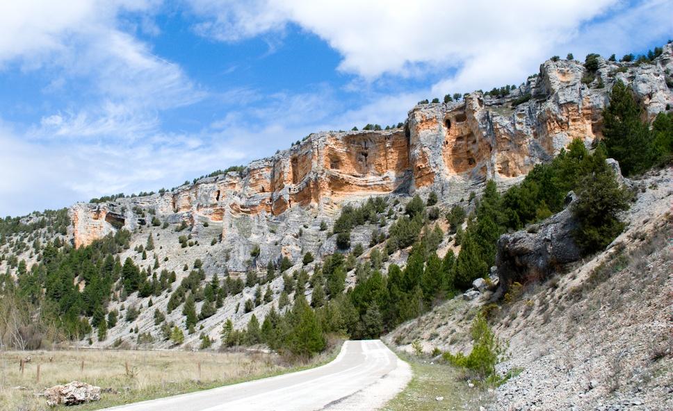 Cañon de rio Lobos,Burgos