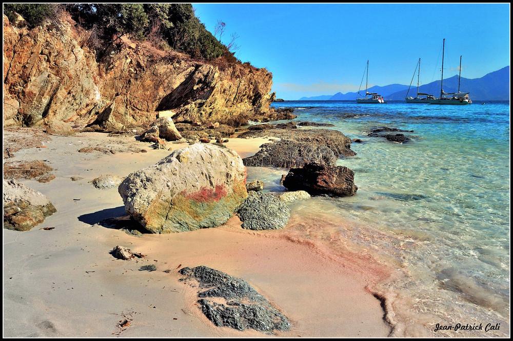 Cap Corse ( Depuis la plage de Loto )