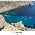 Cap Formentor ... Ankerplatz gut gefüllt...