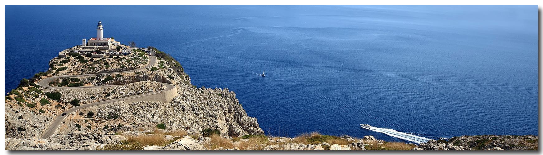 Cap Formentor -Leuchtturm