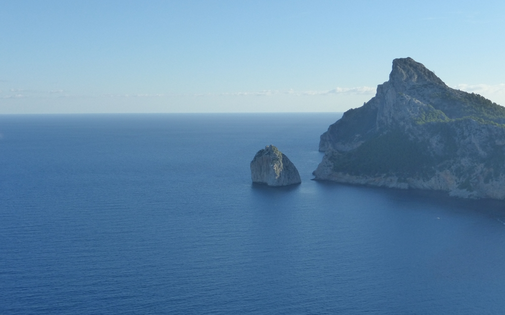 Cap Formentor mit Insel Colome