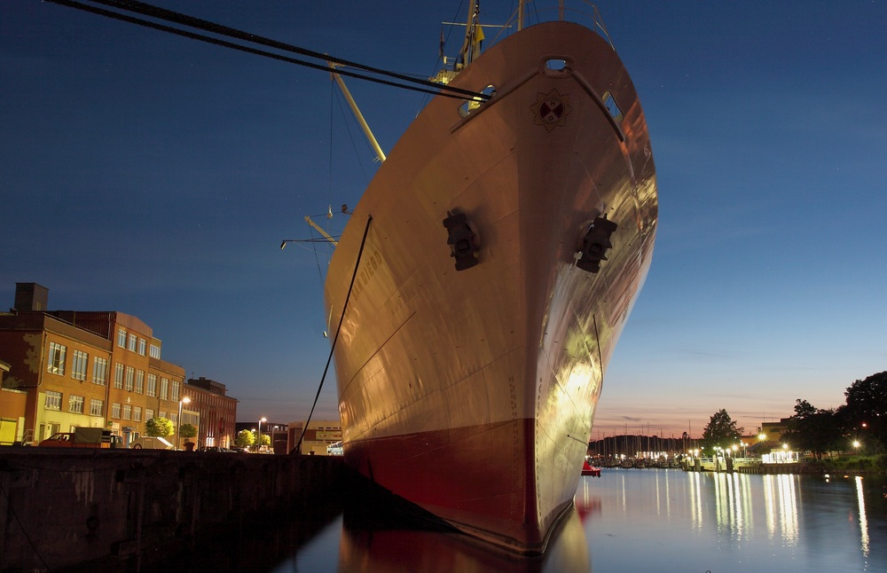 Cap San Diego zu Gast in Kiel