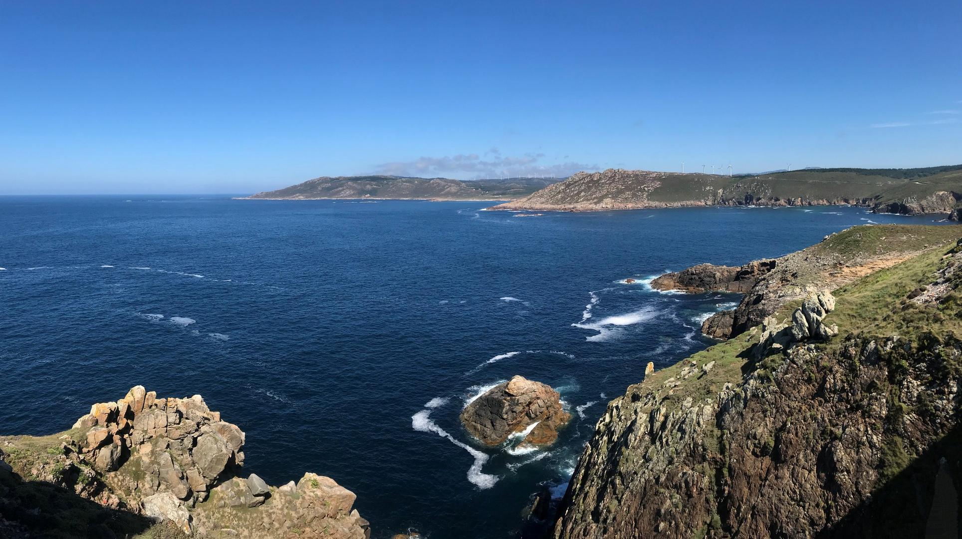 Cap Vilan sur la côte de la Mort