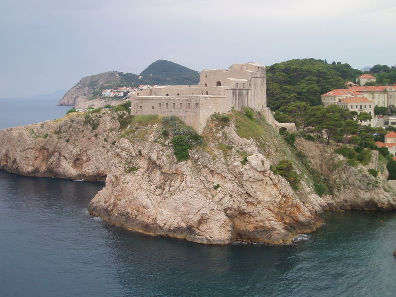 Cape in Dubrovnik